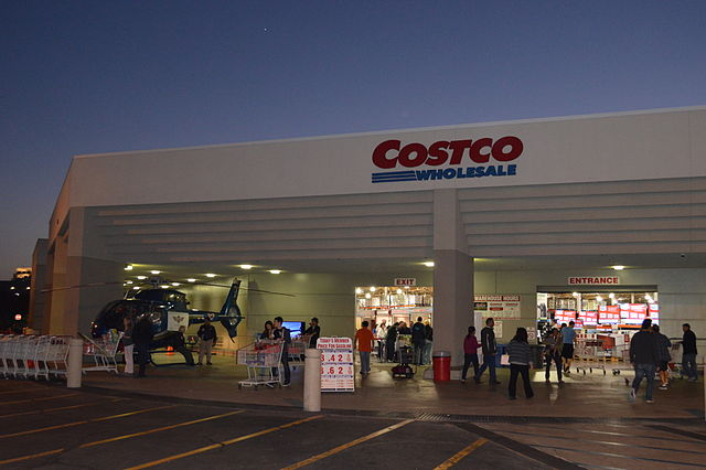 Costco in Irvine, CA, courtesy Wikipedia Commons.