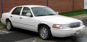 Mercury Grand Marquis, courtesy Wikipedia.