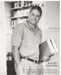 Randall Vandermey in Santa Barbara Magazine