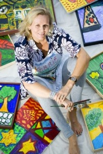 Kerrie Kilpatrick-Weinberg, founder of Artwalk for Kids/Adults (courtesy photo)