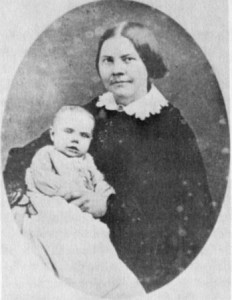 Lucy Stone and her daughter