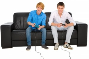 Teenagers Playing Computer Game by Ambro, freedigitalphotos.net