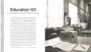 Education 101, from Santa Barbara Magazine