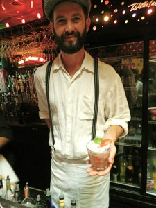 Wildcat Farm to Bar Mixologist Patrick Reynolds (John Blanchette photo)