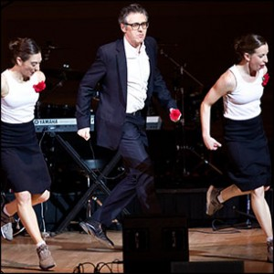 Ira Glass and dancers, Photo by Ebru Yildiz