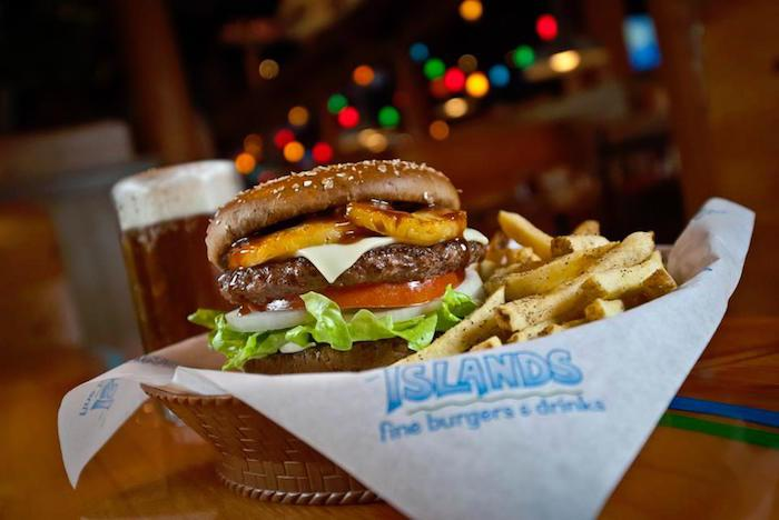 Islands Hawaiian Burger, courtesy photo.