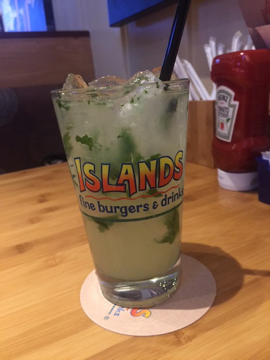 Islands Mojito, photo by Leslie Dinaberg.
