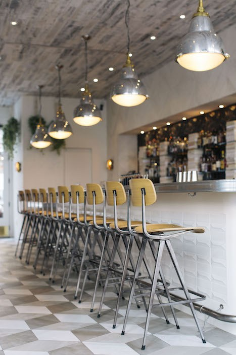 Bar interior shot, courtesy Smithy Kitchen + Bar.