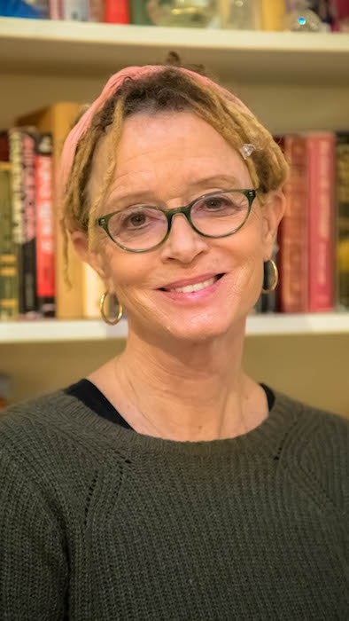 Anne Lamott, photo by Sam Lamott.