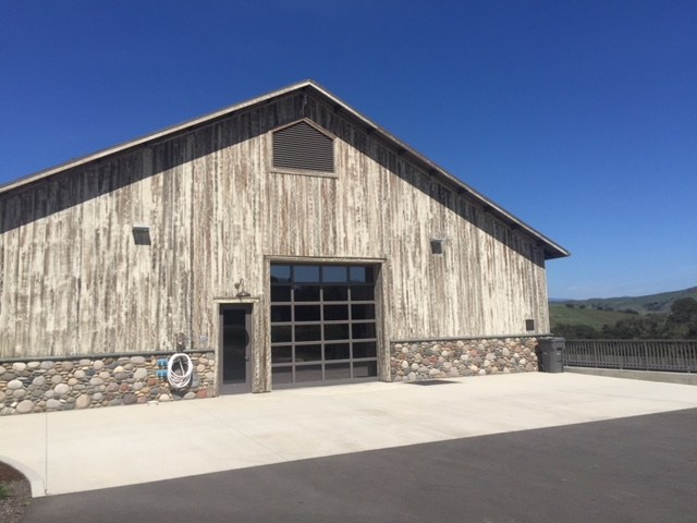 Spear Winery, back view, photo by Leslie Dinaberg.