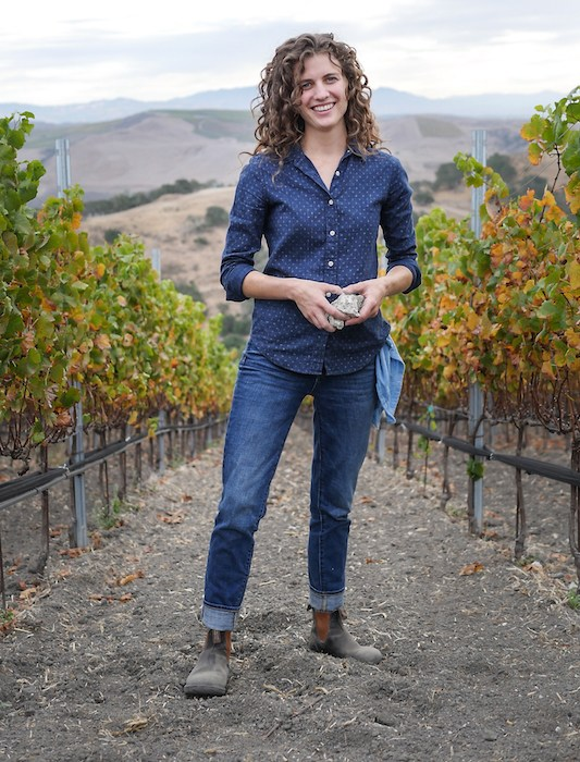 Spear Winery Winemaker Kat Gaffney, courtesy photo.