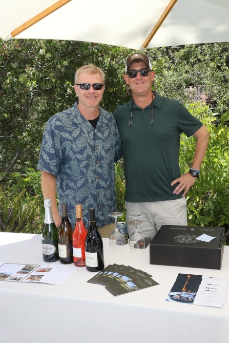 Tim Snider and Brad Thomas at Santa Barbara Wine + Food Festival, courtesy photo.