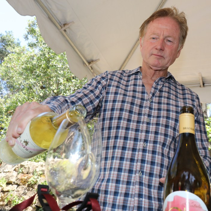 Fred Brander at Santa Barbara Wine + Food Festival, courtesy photo.