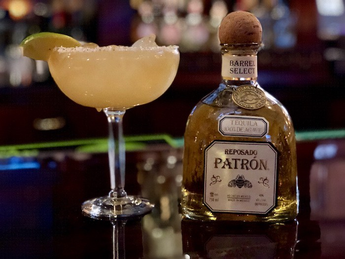Pancho's Mexican Restaurant's Naughty Maggie with Patron Barrel Select Reposado, photo courtesy Wicked Creative.