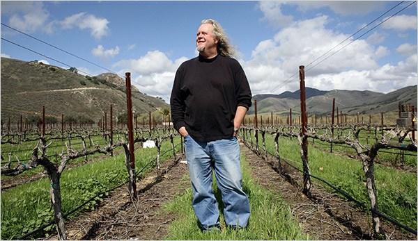 Taste of the Town's 2018 Honorary Vintner is Jim Clendenen of Au Bon Climat, courtesy photo.