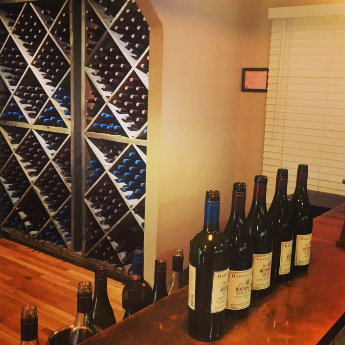 Inside the Hitching Post Wine Tasting Room, photo by Leslie Dinaberg.