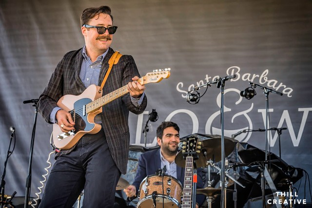 Nick Waterhouse at Santa Barbara Polo & Wine Festival, photo by Andrew Thill.