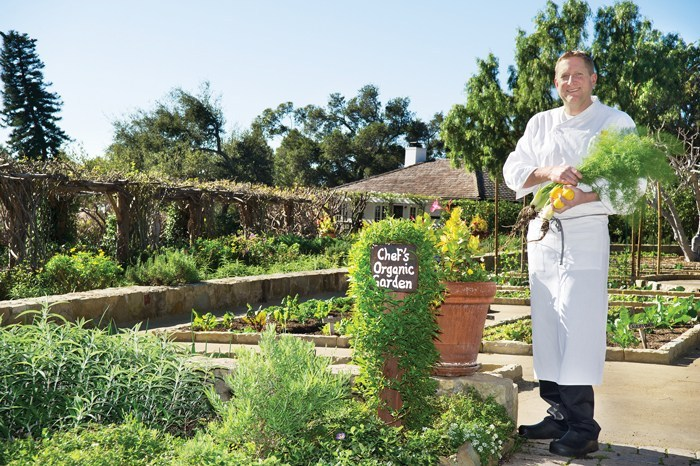 One of the 2018 Taste of the Town Honorary Chefs is Matt Johnson, executive chef at San Ysidro Ranch. SB Seasons file photo by Amy Barnard.