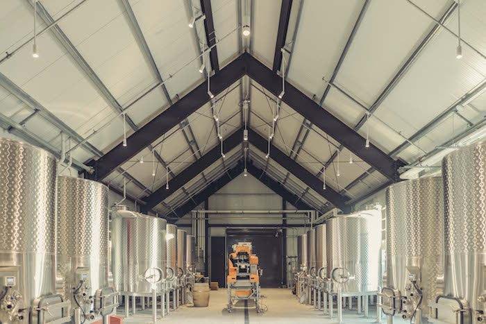 Brave & Maiden Estate, inside winery, courtesy photo.