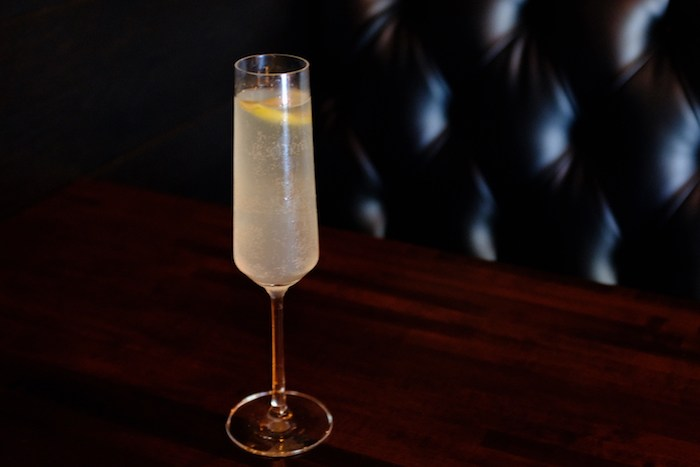 The French 75 at Chaplin's Martini Bar, courtesy photo.