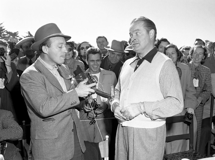 After missing the Crosby Pro-Am from 1947-1950, Bob Hope finally showed up 