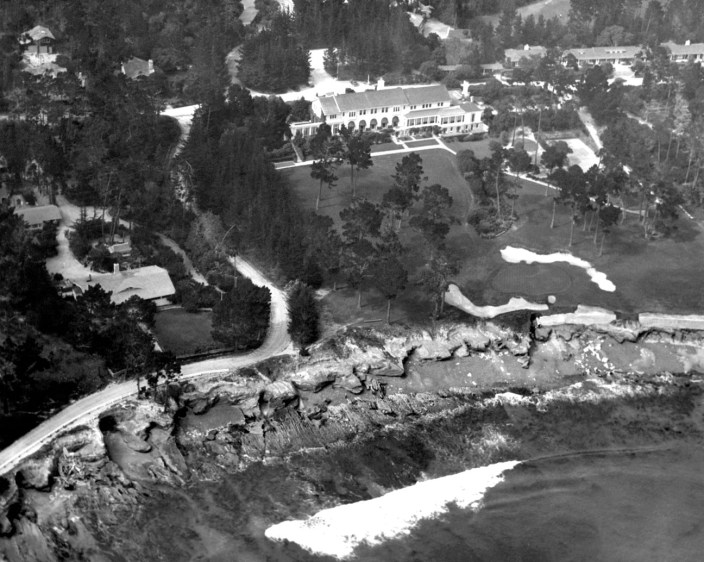 An aerial of The Lodge at 