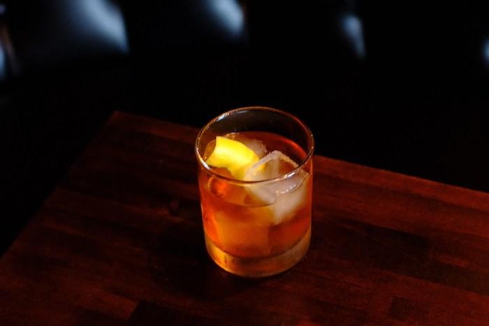 The Rusty Nail at Chaplin's Martini Bar, courtesy photo.