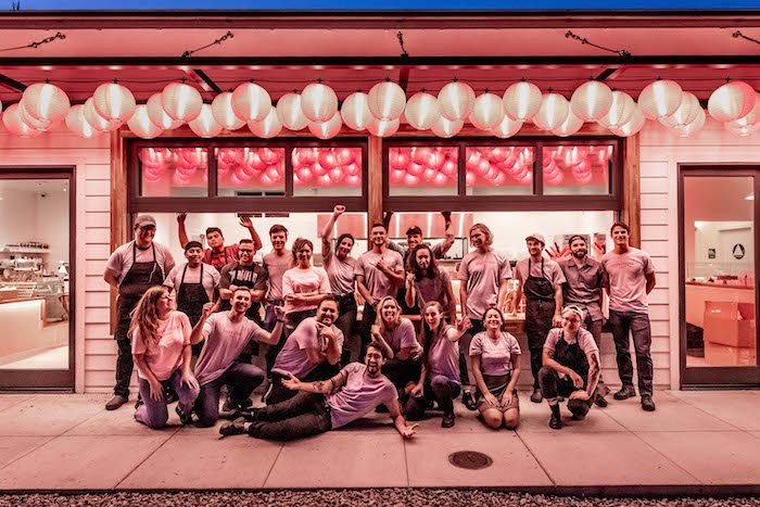 Follow the pink lanterns to the Tyger Tyger team, waiting to serve you at the new Funk Zone spot. Photo by Rob Stark.
