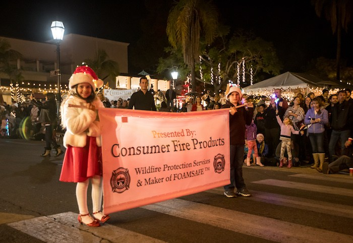 Downtown Santa Barbara Holiday Parade, courtesy photo.