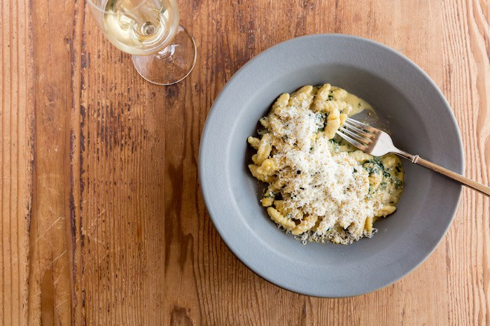 Finch & Fork's Black Pepper Cavatelli, courtesy photo.