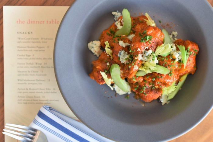 Harissa Wings, photo courtesy Finch & Fork.