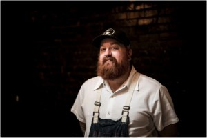 Les Marchands' Chef Weston Richards, photo by Rob Stark.