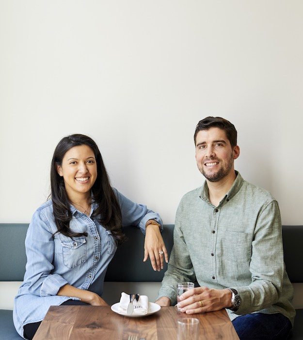 Cafe Ana Owners Katherine Guzman Sanders and Julian Sanders, photo by Leela Cyd.
