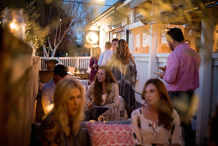 The Courtyard at S.Y. Kitchen | Photo Credit Rob Stark