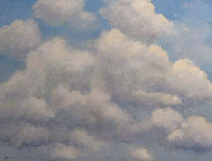 """Jennifer Boswell, """"Up in the Air"""" Series Eight 1A."""