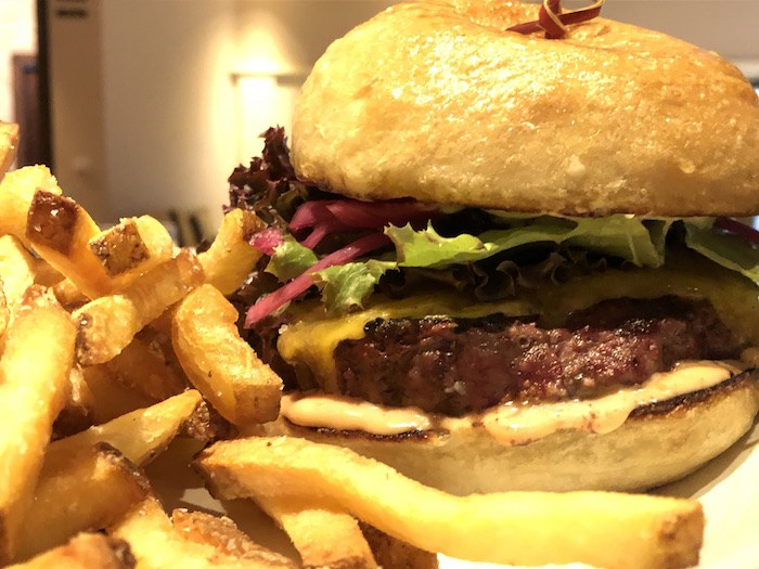 Root 246's Creekstone Ranch Burger is one of the specials on the menu at Santa Ynez Valley Restaurant Weeks, taking place Jan 27 to Feb 10. Courtesy photo.