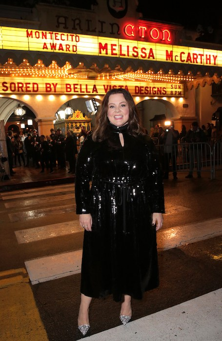 Melissa McCarthy attends the Montecito Award honoring Melissa McCarthy during the 34th Santa Barbara International Film Festival at Arlington Theatre on February 3, 2019 in Santa Barbara, California. (Photo by Rebecca Sapp/Getty Images for SBIFF)
