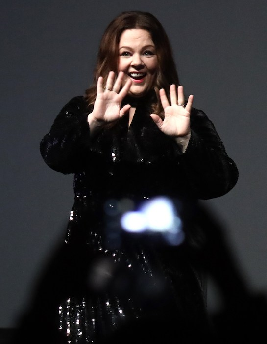 Melissa McCarthy speaks onstage at the Montecito Award honoring Melissa McCarthy during the 34th Santa Barbara International Film Festival at Arlington Theatre on February 3, 2019 in Santa Barbara, California. (Photo by Rebecca Sapp/Getty Images for SBIFF)