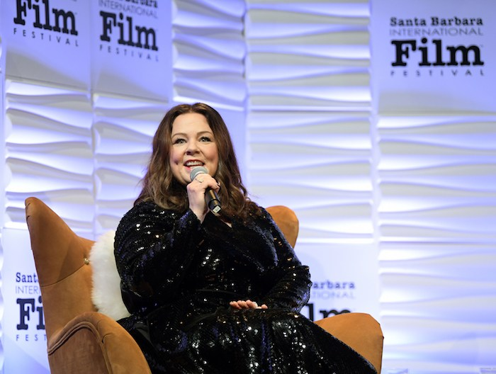 Melissa McCarthy speaks onstage at the Montecito Award honoring Melissa McCarthy during the 34th Santa Barbara International Film Festival at Arlington Theatre on February 3, 2019 in Santa Barbara, California. (Photo by Emma McIntyre/Getty Images for SBIFF)