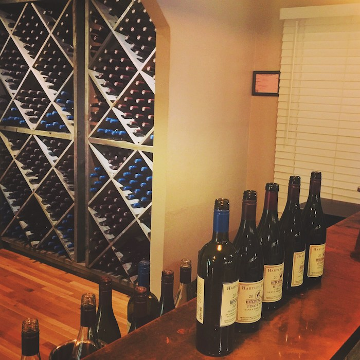 Located right next door to the famed Hitching Post 2 restaurant in Buellton (which was so memorably immortalized in the movie Sideways), Hitching Post Wines recently opened its first-ever tasting room, after almost 40 years of winemaking. Photo by Leslie Dinaberg.
