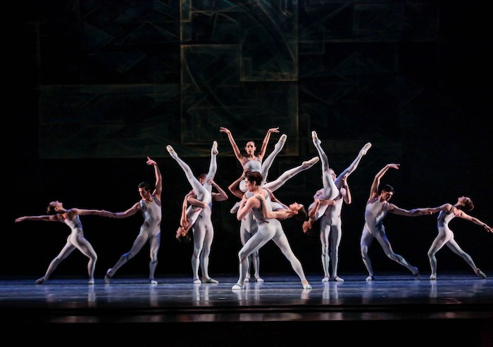 Joffrey Ballet, Beyond the Shore, photo by Cheryl Mann.
