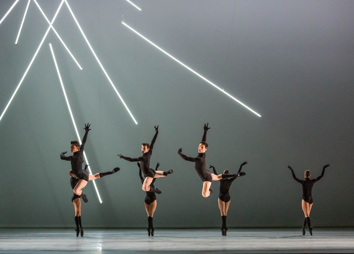 "Joffrey Ballet, ""Mammatus, photo by Cheryl Mann."