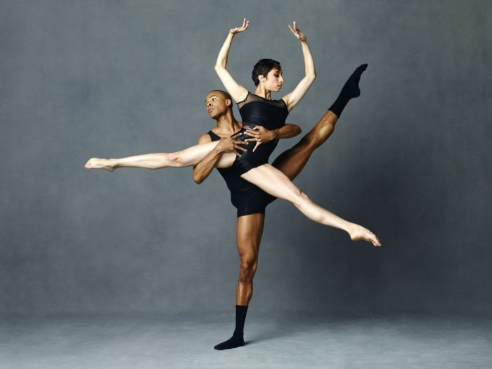 Alvin Ailey American Dance Theater's Yannick Lebrun and Sarah Daley. Photo Credit: ANDREW ECCLES.