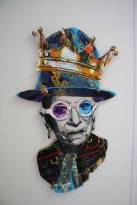 Ruth Bader Ginsburg by Inga Guzyte, courtesy photo.