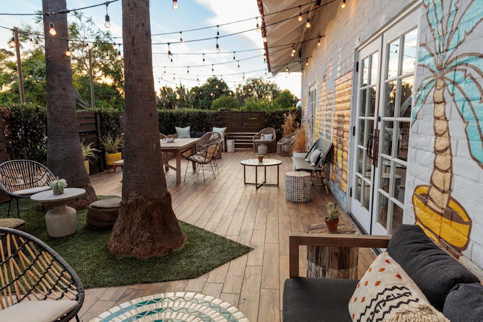 The patio at the Goodbar at the Goodland, courtesy photo.