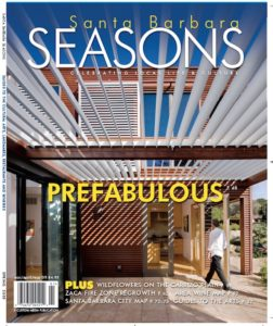 Santa Barbara Seasons Spring 2009 cover.