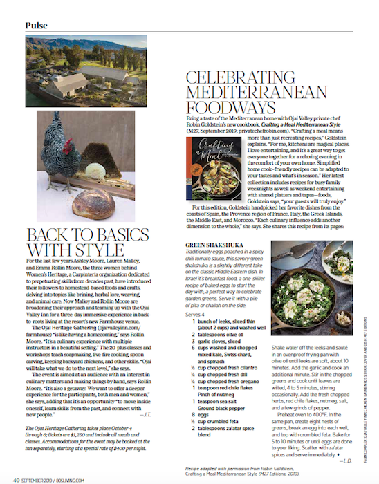 As featured in 805 Living Magazine, September 2019.