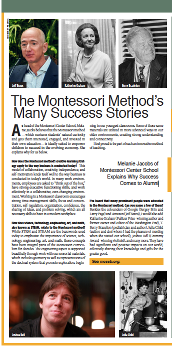 Montessori School, From Schools of Thought, Santa Barbara Independent, November 7, 2019.