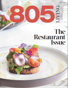 805 Living Cover, March 2020.