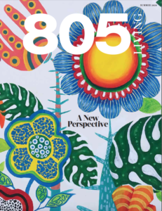 805 Living Summer 2020, cover art by John Galan.